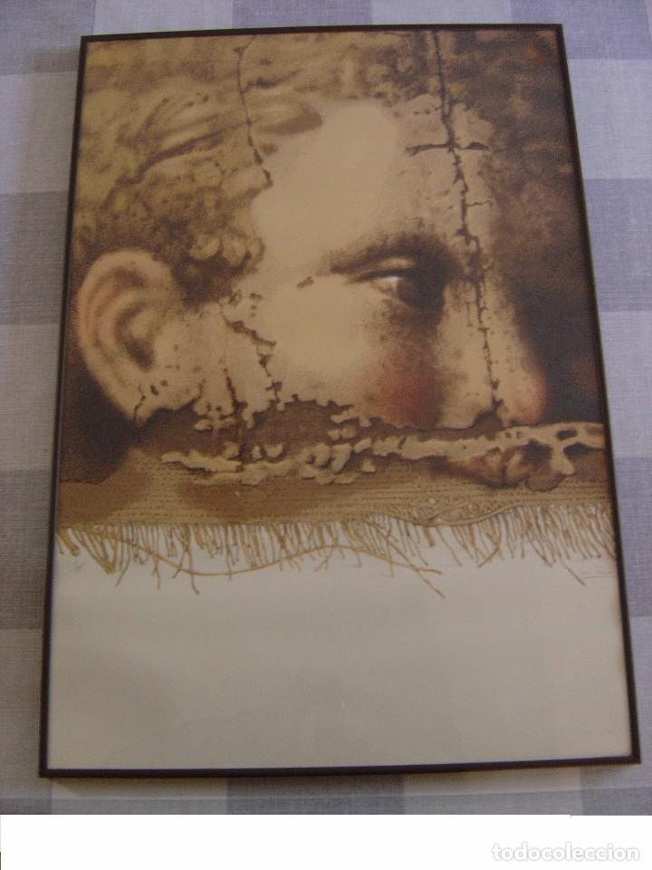 Arte: SERIGRAFÍA DE MANUEL BOIX FIRMADA Y NÚMERADA 6/75,SERIE BARROC - Foto 2 - 82289120