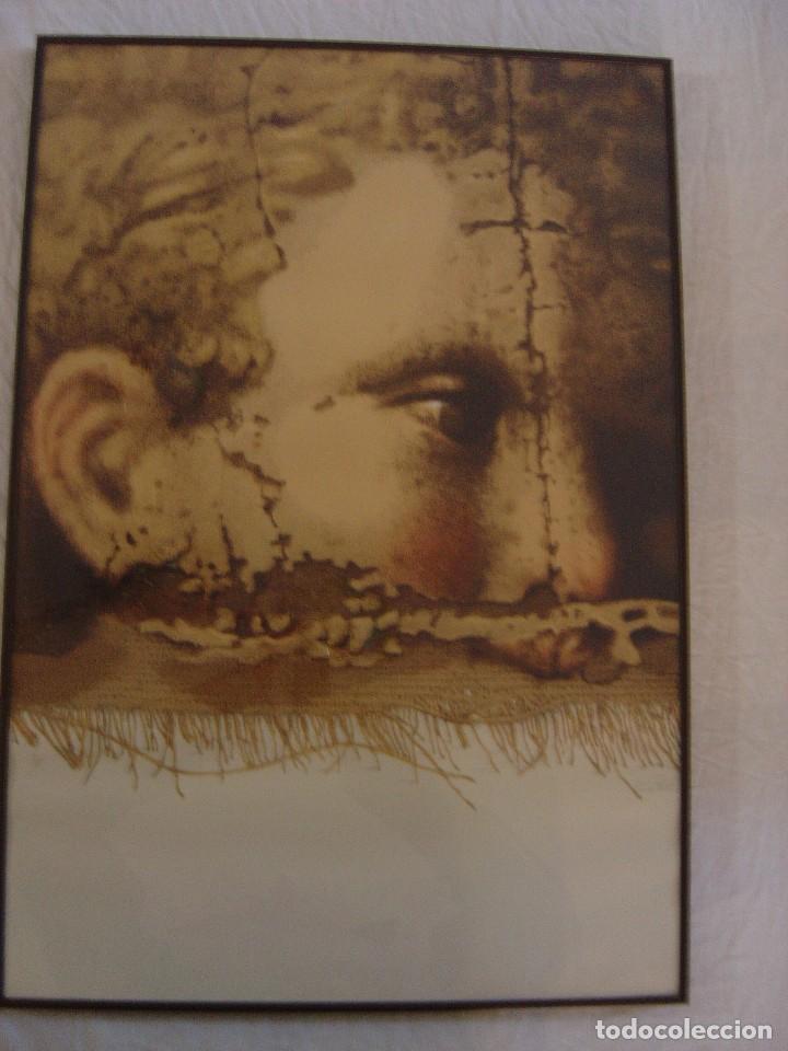 Arte: SERIGRAFÍA DE MANUEL BOIX FIRMADA Y NÚMERADA 6/75,SERIE BARROC - Foto 3 - 82289120