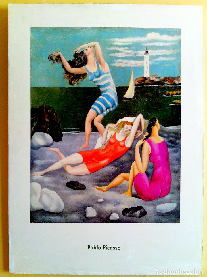 OBRA DE - PABLO PICASSO - LITOGRAFIA PEGADA SOBRE BASTIDOR Y TABLA 78 X 60 CMS (Arte - Serigrafías )