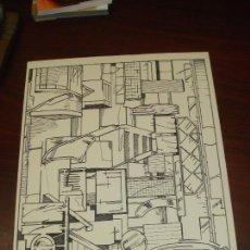 "Arte: NICOLAS GLESS (AVILA 1950).SERIGRAFIA B/N ""CALLE (1)"". NUMERADA Y FIRMADA. 1975.. Lote 82411272"