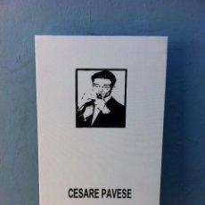 Arte: SERIGRAFÍA SOBRE LIENZO CON BASTIDOR (CESARE PAVESE). 55 X 38 X 1,6CM. ESCRITORES. Lote 84517000