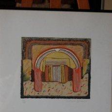 Arte: RICARDO ALARIO. SERIGRAFÍA FIRMADA A LÁPIZ Y CON JUSTIFICACIÓN DE TIRADA DEL AÑO 1993.. Lote 86758988