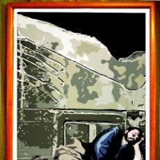 Arte: CARTEL DE OBRA DEL - EQUIPO CRONICA -EL SUEÑO DE JACOB -, DE 1971 . REPRODUCION TAMAÑO :70X100 CMS. Lote 87024408