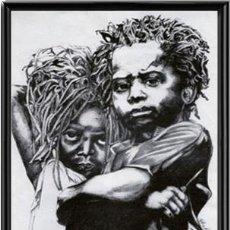 Arte: MATTHEW RICH. SERIGRAFÍA PRÍNCIPES DE ETIOPÍA. 1992. Lote 87617068