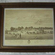 Arte: ARANJUEZ, REPROGRAFÍA DEL SERVICIO GEOGRÁFICO DEL EJÉRCITO, DE GRABADO REALIZADO EN 1773. Lote 87717724
