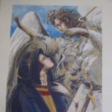 Art: LA ANUNCIACIÒN DE DANIEL MERINO. Lote 93072700