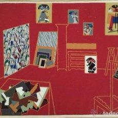 Arte: SERIGRAFÍA ORIGINAL DEL ARTISTA MANOLO VALDÉS. ESTUDIO DEL ARTISTA DE GRAN TAMAÑO EJEMPLAR 75/75 . Lote 93165935