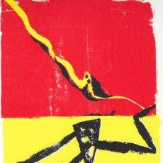 Arte: ZILIO COMPOSICIÓN SERIGRAFIA ORIGINAL FIRMADA Y NUMERADA A LÁPIZ XVIII/XXX EDICIÓN 30 EJEMPLARES. Lote 93229295