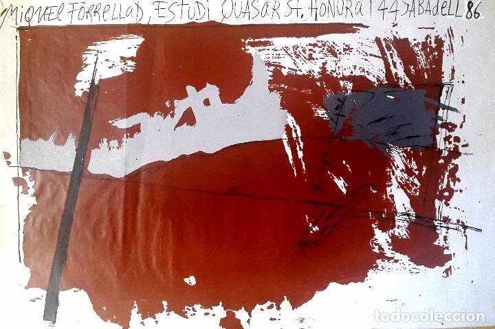 MIQUEL FORRELLAD - 1986 - SABADELL (Arte - Serigrafías )