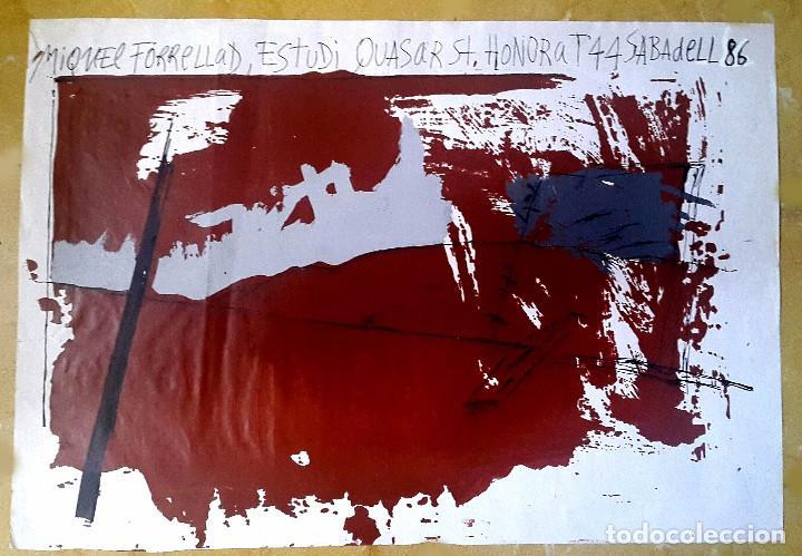 Arte: MIQUEL FORRELLAD - 1986 - SABADELL - Foto 2 - 94300926