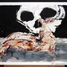 Arte: JOSÉ MOREA (CHIVA, VALENCIA, 1951) SERIGRAFIA ORIGINAL FIRMADA A MANO. 216/220. Lote 96292887