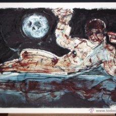Arte: JOSÉ MOREA (CHIVA, VALENCIA, 1951) SERIGRAFIA ORIGINAL FIRMADA A MANO. 216/220. Lote 96293067
