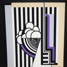 Arte: JOSE IRANZO ALMONACID (ANZO) (UTIEL, VALENCIA, 1931 - 2006) SERIGRAFIA ORIGINAL. Lote 96295035