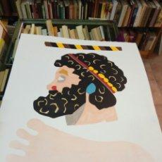 Arte: EDUARDO ARROYO. LOTE DE 4 SERIGRAFIAS. OLIMPIADAS. 65X50 CM.. Lote 97713971