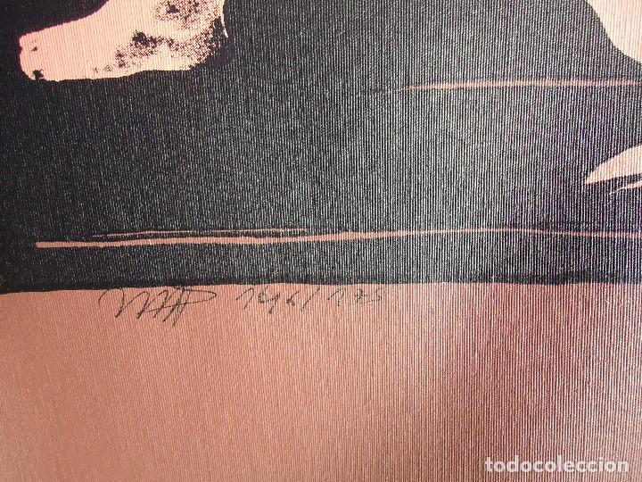 Arte: LEVÍTICO. obra grafica de Mertxe Periz 4 grabados y 1 tela - Foto 19 - 98783659