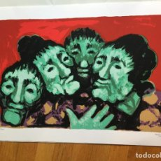 Arte: SERIGRAFIA ORIGINAL, BAQUE XIMENEZ NUMERADA. Lote 100617903