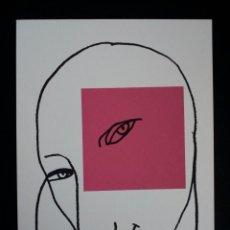 Arte: SERIGRAFÍA DE KIKER, PINTOR ASTURIANO, ASTURIAS, SURREALISTA. Lote 100972956