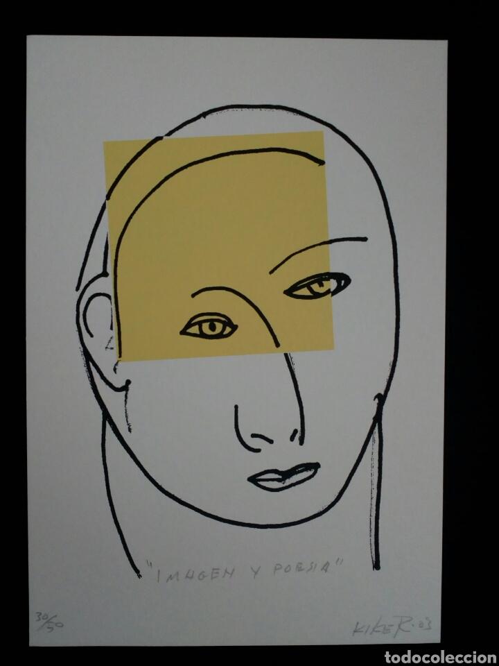 SERIGRAFÍA DE KIKER, PINTOR ASTURIANO, ASTURIAS, SURREALISTA (Arte - Serigrafías )