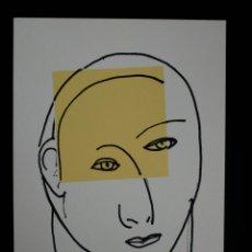 Arte: SERIGRAFÍA DE KIKER, PINTOR ASTURIANO, ASTURIAS, SURREALISTA. Lote 100973752