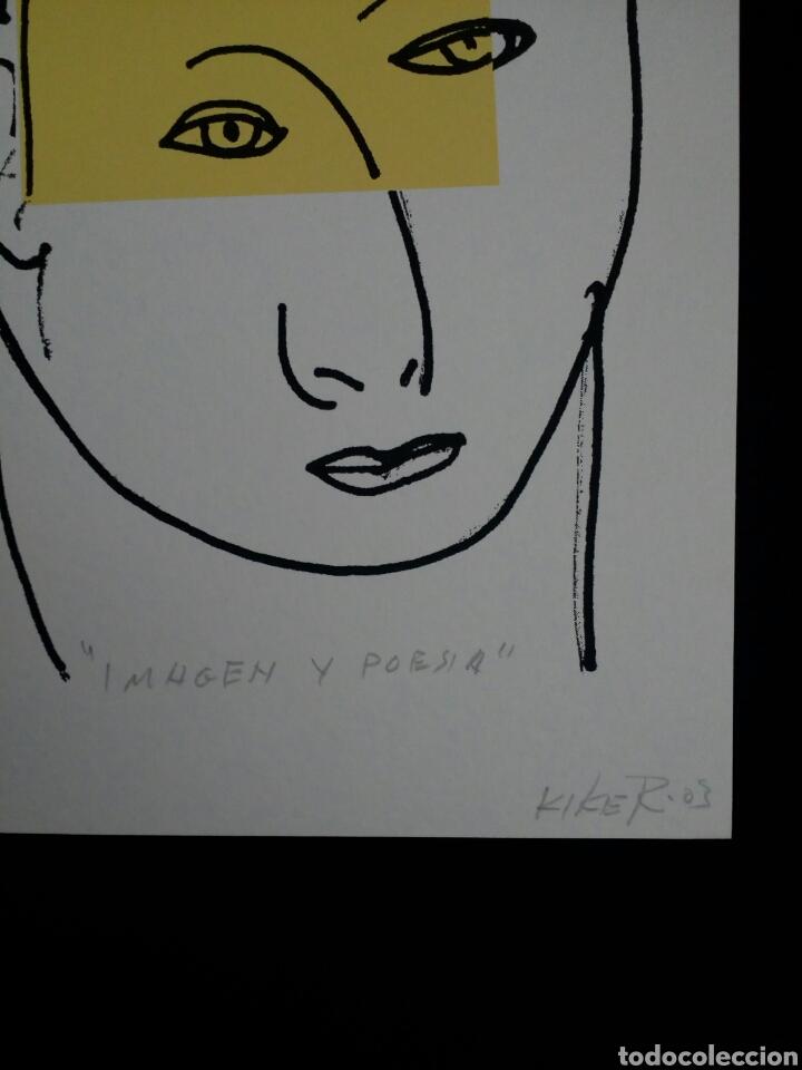Arte: SERIGRAFÍA DE KIKER, PINTOR ASTURIANO, ASTURIAS, SURREALISTA - Foto 2 - 100973752
