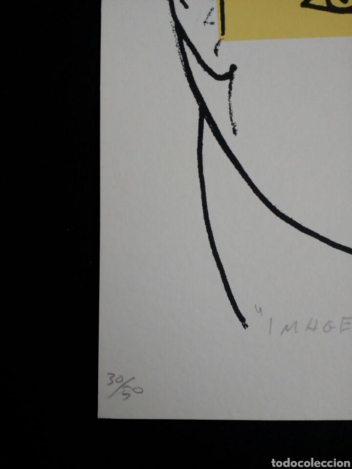 Arte: SERIGRAFÍA DE KIKER, PINTOR ASTURIANO, ASTURIAS, SURREALISTA - Foto 3 - 100973752