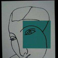 Arte: SERIGRAFÍA DE KIKER, PINTOR ASTURIANO, ASTURIAS, SURREALISTA. Lote 100974538