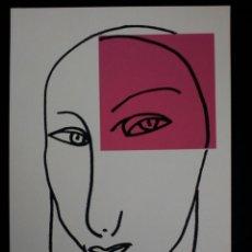 Arte: SERIGRAFÍA DE KIKER, PINTOR ASTURIANO, ASTURIAS, SURREALISTA. Lote 100975320