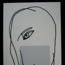 Arte: SERIGRAFÍA DE KIKER, PINTOR ASTURIANO, ASTURIAS, SURREALISTA. Lote 100976146