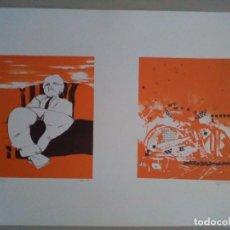 Arte: 2 SERIGRAFIAS DE DOS AUTORES DIFERENTES. Lote 101018495