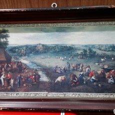 Arte: JAN BRUEGHEL VELOURS 1568,SERÍGRAFIA A COLOR.. Lote 101438480
