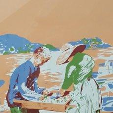 Arte: ALFONSO COSTA BEIRO. SERIGRAFÍA FIRMADA Y NUMERADA.. Lote 101451359