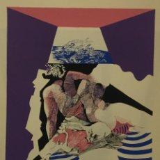 Arte: SERIGRAFIA ORIGINAL DE BARTOLOZZI. 41,5X34 CM. FIRMADA. AJEMPLAR 'A'.. Lote 103702271