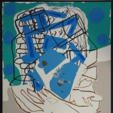 Arte: LUIS GORDILLO. HOMENAJE A FEDERICO GARCIA LORCA. SERIGRAFIA. 1998. Lote 103703875