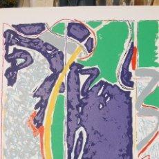 Arte: ALBERTO SOLSONA (BARCELONA 1947-2009). PRECIOSA SERIGRAFÍA DE 64X54 (HUELLA) EN 50X65. 14/75. PERFEC. Lote 104380567