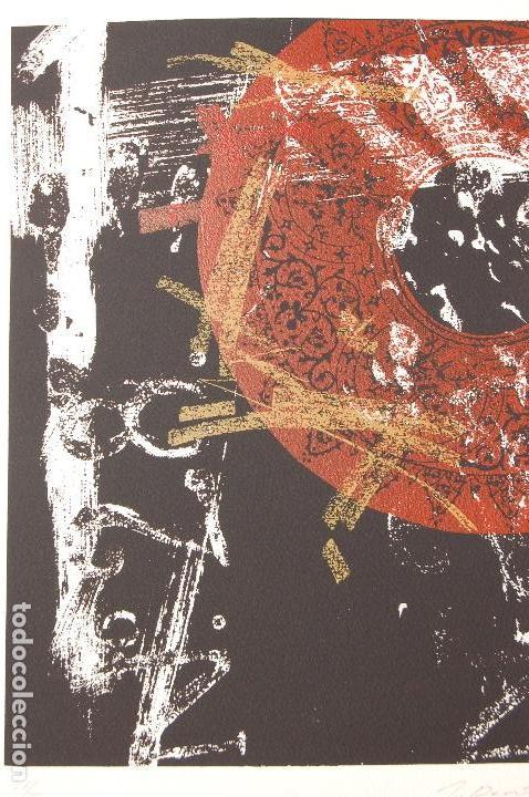 Arte: José María Doña. Serigrafía en perfecto estado de 22x31 mancha en 37x57. 23/25.Nunca enmarcada. - Foto 2 - 104383411