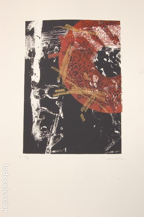 Arte: José María Doña. Serigrafía en perfecto estado de 22x31 mancha en 37x57. 23/25.Nunca enmarcada. - Foto 3 - 104383411