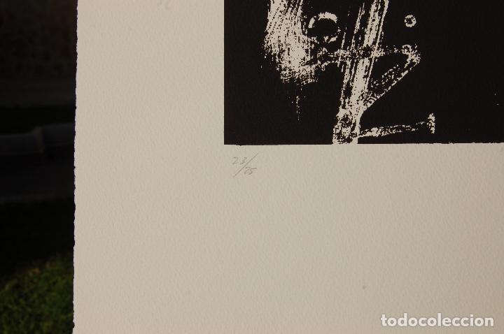 Arte: José María Doña. Serigrafía en perfecto estado de 22x31 mancha en 37x57. 23/25.Nunca enmarcada. - Foto 5 - 104383411