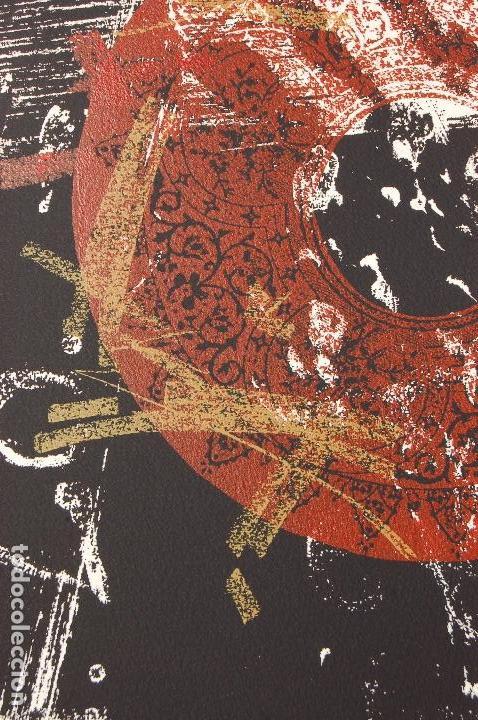 Arte: José María Doña. Serigrafía en perfecto estado de 22x31 mancha en 37x57. 23/25.Nunca enmarcada. - Foto 6 - 104383411