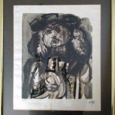 Arte: ÁLVARO DELGADO (1922 - 2016) SERIGRAFIA SOBRE LINO PURO. NUMERADA 108/300 Y FIRMADA. Lote 104521863
