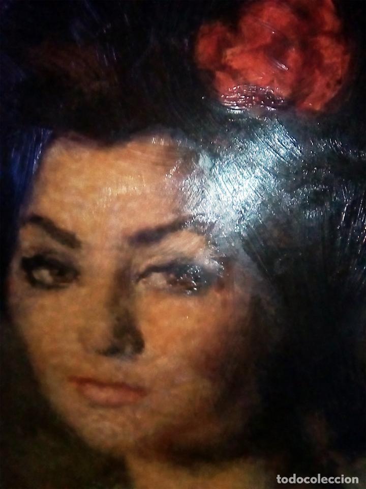 Arte: CUADRO OBRA DE -FRANCISCO RIBERA GOMEZ - IMPRESION EN SERIGRAFIA SOBRE TABLA ENMARCADO.AÑOS 70 - Foto 2 - 104654111