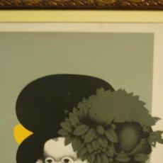 Arte: JUAN FERNÁNDEZ BÉJAR (MÁLAGA 1946)SERIGRAFÍA DE 34X43 MUY BIEN ENMARCADA EN 57X64.61/200.. Lote 109471018
