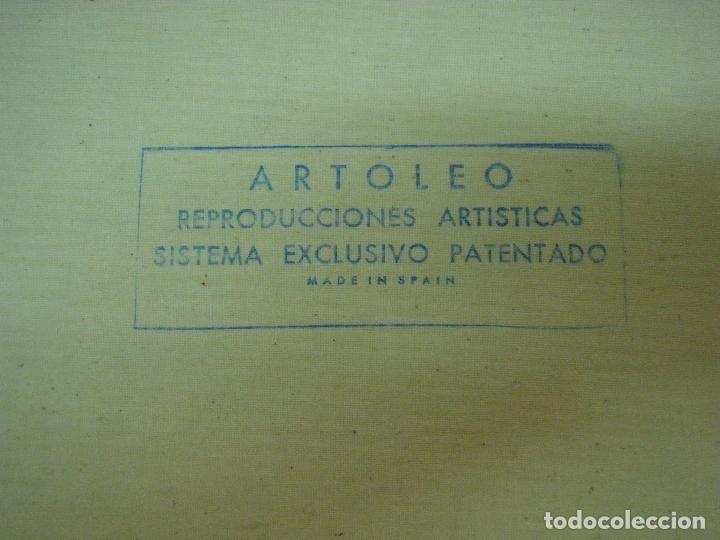 Arte: REPRODUCCION OLEOGRAFICA DE DUELO A GARROTAZOS DE FRANCISCO DE GOYA - Foto 7 - 27222767