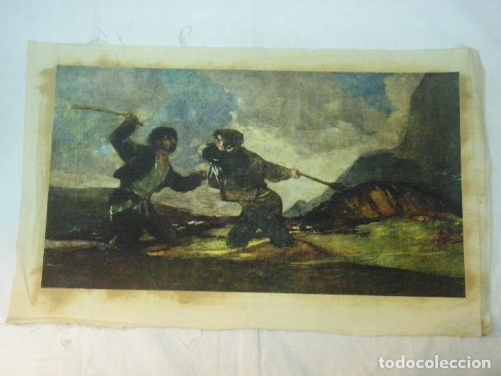 Arte: REPRODUCCION OLEOGRAFICA DE DUELO A GARROTAZOS DE FRANCISCO DE GOYA - Foto 8 - 27222767