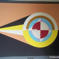 Arte: CÉSAR MANRIQUE, LANZAROTE. SERIGRAFIA 7 COLORES FIRMADA A LAPIZ. ESTUPENDO ESTADO. 1985. Lote 107574823