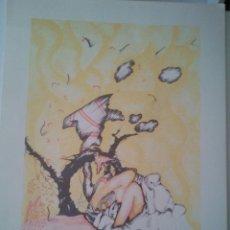Arte: ARRANZ BRAVO- BARTOLOZZI. SERIGRAFIA ORIGINAL- 1972- FIRMADA A MANO A LAPIZ DE LOS AUTORES-. Lote 107918087