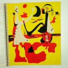 Arte: REVISTA D'ACÍ D'ALLÀ CON EL POCHOIR DE MIRÓ, HIVERN 1934. 33,29,5CM. Lote 107963463