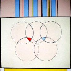 Arte: CARMELO ARDEN QUINN. SERIGRAFIA ORIGINAL FIRMADA A MANO POR EL ARTISTA EN EDICION LIMIT 1992. Lote 108690215