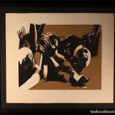 Arte: LOS FANS- RAFAEL CANOGAR-LITOGRAFIA. Lote 109418447