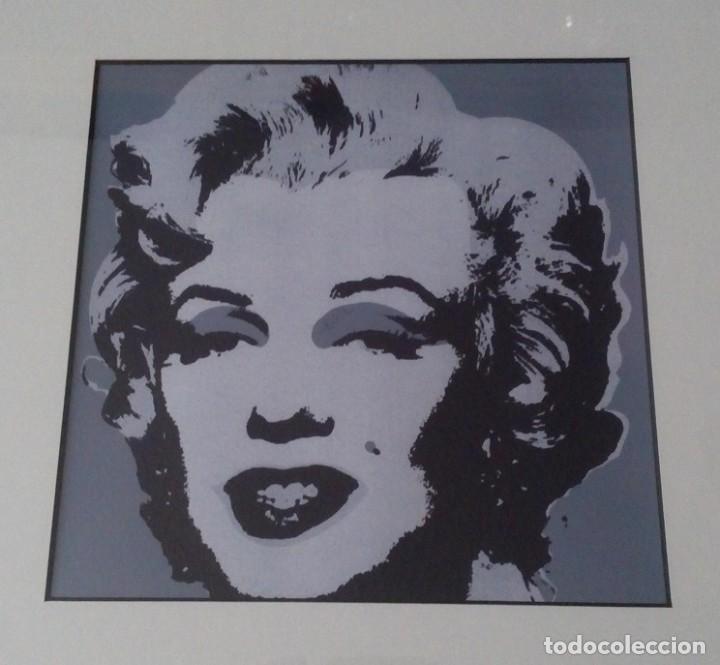 gran serigrafia de andy warhol marilyn monroe 1 - Comprar ...