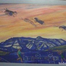 Arte: JORDI SERRATE TECNICA MIXTA ESTIU. Lote 110215099